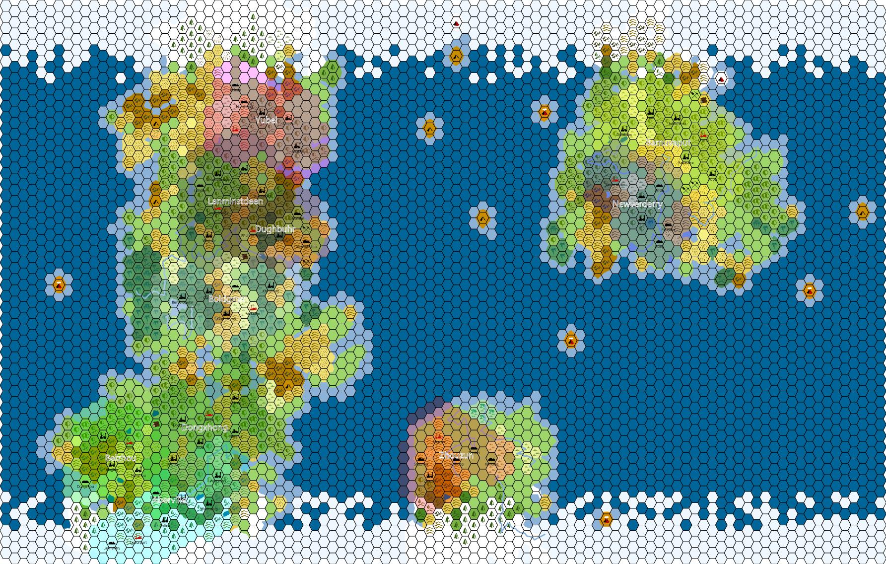 Examples – World/Kingdom Maps – Worldographer on