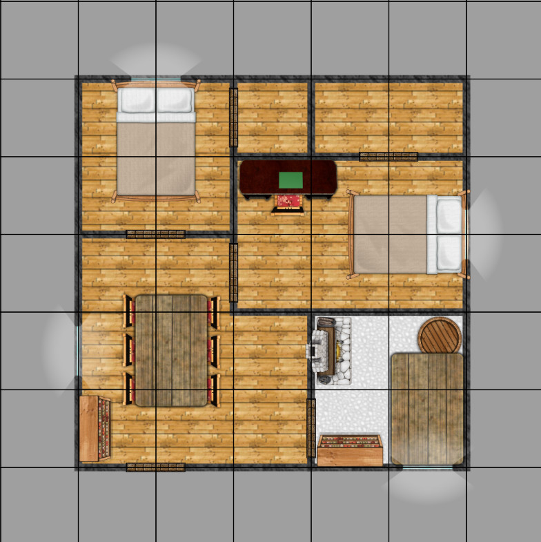 Simple house, auto-generated.