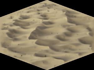 Desert Sandy Isometric Rows