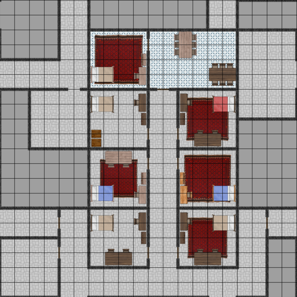 Dungeon Section (Living Quarters)