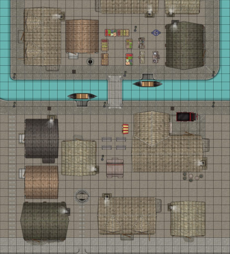 Canals (Uses our Apr 2020 Streets & Rivers Patreon icons, now on DriveThruRPG)
